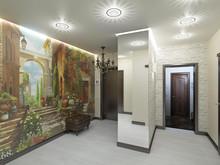 Квартира «Два мира», прихожая . Фото № 29696, автор Хачатурова Галина
