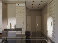 Квартира «Квартира на Васильевском острове», прихожая . Фото № 29711, автор Смышляева Ирина