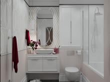 Квартира «Нежная классика», ванная . Фото № 29736, автор Смышляева Ирина