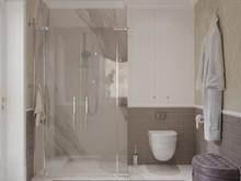 Квартира «Нежная классика», ванная . Фото № 29734, автор Смышляева Ирина
