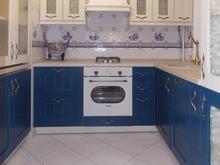 Квартира «Любовь и Гжель», кухня . Фото № 29750, автор Sweet Home