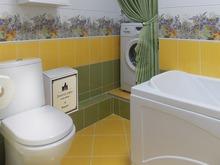 Квартира «Любовь и Гжель», ванная . Фото № 29751, автор Sweet Home