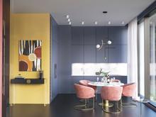Квартира «Квартира в ЖК 5 Звезд», кухня . Фото № 29752, автор Смышляева Ирина