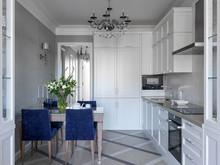 Квартира «Классика », кухня . Фото № 29762, автор Кисель Марина