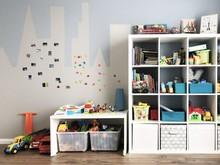 Квартира «Квартира для семейного счастья (Мещерский лес, 70 кв. метров)», детская . Фото № 29768, автор Идея Плюс