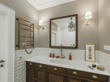 Квартира «Дизайн квартиры во Владимире», ванная . Фото № 29785, автор Деденко Алексей