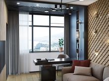 Квартира «Квартира в стиле минимализм на основе Русских национальных традиций», кабинет . Фото № 29816, автор Попова Надежда
