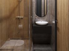 Квартира «Квартира в стиле минимализм на основе Русских национальных традиций», ванная . Фото № 29817, автор Попова Надежда