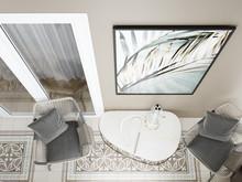 Квартира «Современная квартира для молодой семьи», веранда лоджия . Фото № 29861, автор Зорина Анастасия