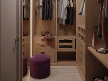 Квартира «Без суеты», гардеробная . Фото № 29879, автор Cердюк Виктория
