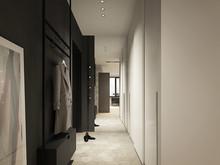 Квартира «SAV_sity», прихожая . Фото № 29907, автор Филиппова Янина