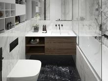 Квартира «SAV_sity», ванная . Фото № 29910, автор Филиппова Янина