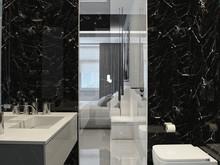 Квартира «Квартира на Беговой», ванная . Фото № 29940, автор Качалов Иван