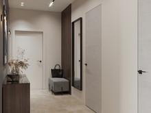 Квартира «Дизайн проект квартиры, ЖК Headliner (Хедлайнер)», прихожая . Фото № 29969, автор Декотренд