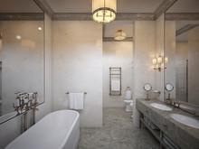 Квартира «Квартира в ЖК Русский Авангард», ванная . Фото № 29993, автор Качалов Иван