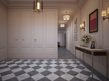 Квартира «Квартира в ЖК Русский Авангард», прихожая . Фото № 29991, автор Качалов Иван