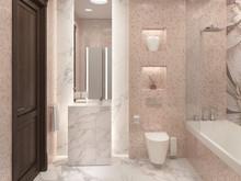 Квартира «Квартира в ЖК Парк Рублево», ванная . Фото № 30007, автор Качалов Иван