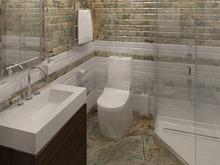 Квартира «Квартира в ЖК Парк Рублево», ванная . Фото № 30009, автор Качалов Иван