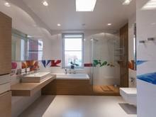 Квартира «Дизайн интерьера квартиры у Парка победы», ванная . Фото № 30026, автор Исаев Павел