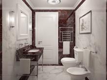Квартира «Квартира в Вене», ванная . Фото № 30035, автор Качалов Иван