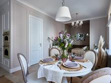 Квартира «Квартира в ЖК Голандский», столовая . Фото № 30049, автор Качалов Иван
