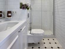 Квартира «Квартира в ЖК Голандский», ванная . Фото № 30052, автор Качалов Иван