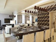 Квартира «Квартира в ЖК Грюнвальд», столовая . Фото № 30100, автор Качалов Иван