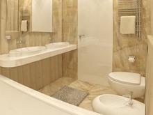 Квартира «Квартира в ЖК Грюнвальд», ванная . Фото № 30097, автор Качалов Иван