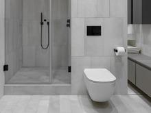 Квартира «Monochrome», ванная . Фото № 30114, автор Поздняков Иван