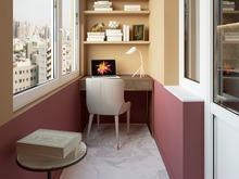 Квартира «Квартира для девушки в г. Москва», веранда лоджия . Фото № 30127, автор Троилова Арина