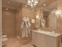 Квартира «Квартира в ЖК Литератор С», ванная . Фото № 30141, автор Качалов Иван