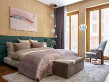 Квартира «Двухэтажная квартира в ЖК Литератор », спальня . Фото № 30147, автор Качалов Иван