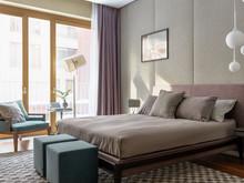 Квартира «Двухэтажная квартира в ЖК Литератор », спальня . Фото № 30145, автор Качалов Иван