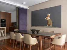 Квартира «Двухэтажная квартира в ЖК Литератор », кухня . Фото № 30146, автор Качалов Иван