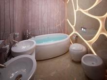 Квартира «Пентхаус в ЖК Андреевский», ванная . Фото № 30156, автор Качалов Иван