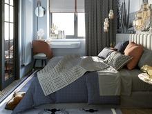 Квартира «Дизайн-проект квартиры в г. Санкт-Петербург», спальня . Фото № 30182, автор Троилова Арина