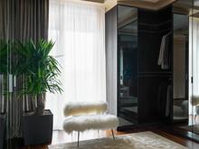 Квартира «Пентхаус в ЖК Литератор», гардеробная . Фото № 30187, автор Качалов Иван