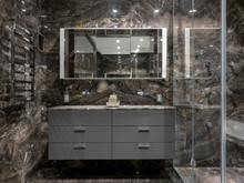 Квартира «Пентхаус в ЖК Литератор», ванная . Фото № 30188, автор Качалов Иван