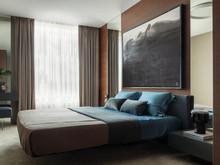 Квартира «Квартира в ЖК Welton park», спальня . Фото № 30194, автор Качалов Иван