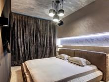 Квартира «Брутальная квартира в ЖК Солнечный олимп», спальня . Фото № 30202, автор Пирко Оксана