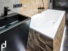 Квартира «Брутальная квартира в ЖК Солнечный олимп», ванная . Фото № 30203, автор Пирко Оксана