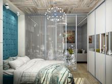 Квартира «Квартира для молодой девушки», спальня . Фото № 30209, автор Борисов Вячеслав