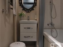 Квартира «Квартира на улице маршала Конева», ванная . Фото № 30216, автор Зольтманн Инна