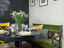 Квартира «Квартира на улице Строителей», кухня . Фото № 30221, автор Зольтманн Инна