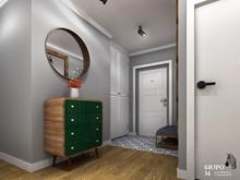 Квартира «Дизайн-проект квартиры в скандинавском стиле, с элементами лофта», прихожая . Фото № 30238, автор Клюева Дарья