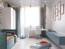 Квартира «Современная квартира в Москве», детская . Фото № 30350, автор Суковатова Ирина