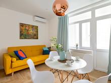 Квартира «Блики цвета в медной люстре», кухня . Фото № 30387, автор Киселева Тамара