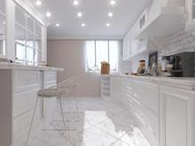 Квартира «Дизайн-проект 3-х комнатной квартиры», кухня . Фото № 30426, автор Багдасарян Арпине