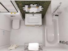 Квартира «Квартира с кухней, гостиной и прихожей в едином пространстве», ванная . Фото № 30447, автор Сапрыкина Светлана