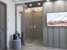 Квартира «Квартира с кухней, гостиной и прихожей в едином пространстве», прихожая . Фото № 30449, автор Сапрыкина Светлана